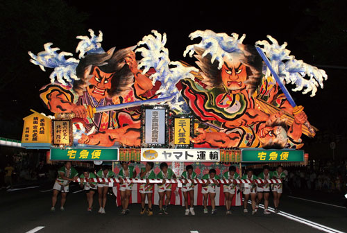 青森ねぶた祭のイメージ
