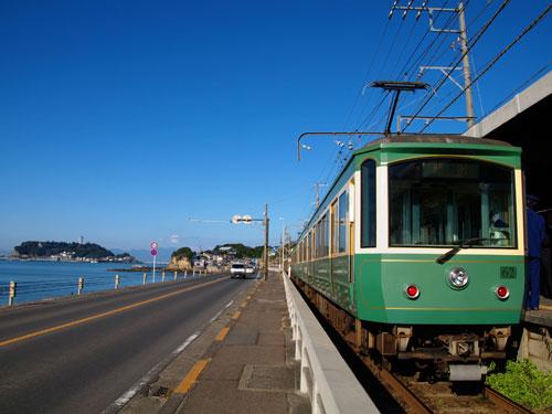 江ノ電のイメージ