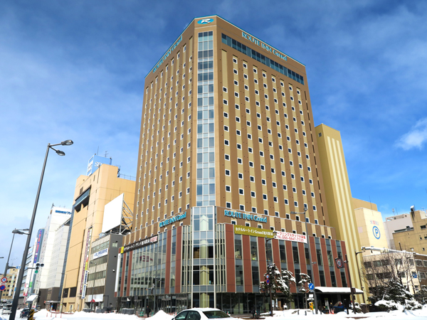 JR「旭川駅」より徒歩2分の好立地で快適なホテルライフを♪《小学生まで添い寝OK!》 ビジネスに!観光に!北海道 旭川ステイ!スタンダードプラン