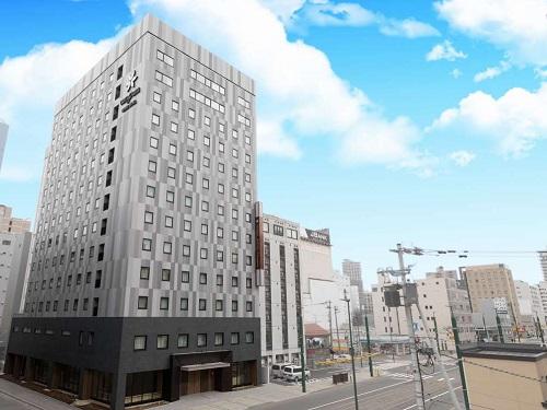 札幌「スマイルホテルプレミアム札幌すすきの」 外観イメージ ※新千歳空港より車で約70分