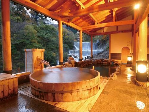 お風呂(3F露天風呂「太子の湯」)