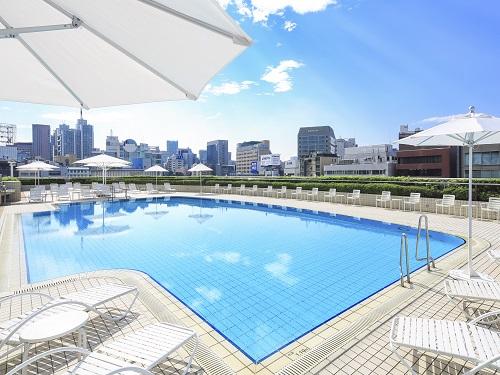 【夏季限定☆】ホテル屋外ガーデンプール滞在中利用OK!23階以上の高層階客室を確約☆ 夏休み! ガーデンプールプラン2018☆ 23階以上ツインルーム