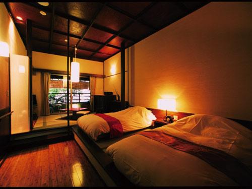 【和室に和ベッド2台のお部屋】 【癒し旅】 新館和室
