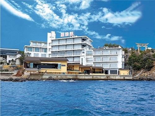 海と一体感で味わえるこの絶景パノラマビュー露天風呂! 兵庫県 赤穂温泉に泊まろう!スタンダードプラン