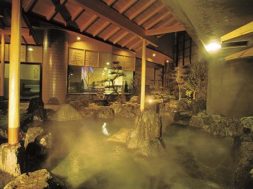 露天風呂(男性用)のイメージ
