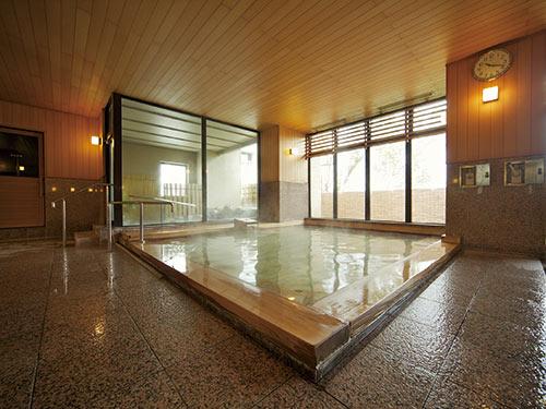 大浴場(檜湯)