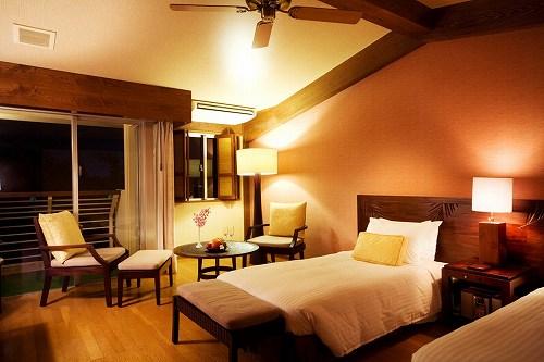 ホテル お部屋(ガーデンデラックスツイン)の一例