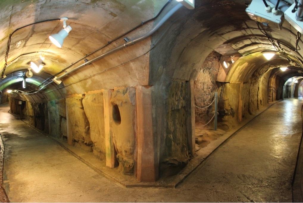 地下通路の一例