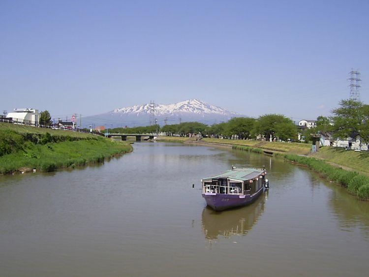 酒田湊屋形船のイメージ