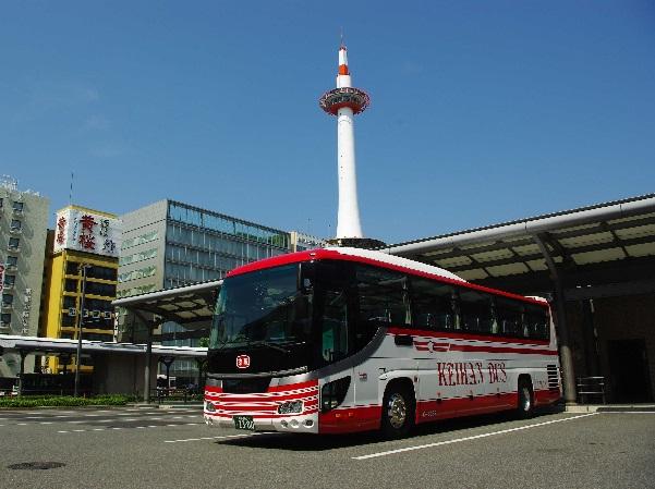定期観光バスでめぐる京都