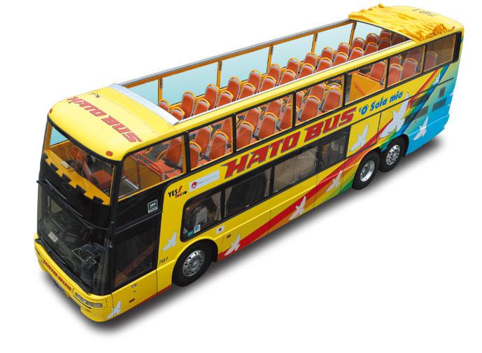 2階建てオープンバスのイメージ