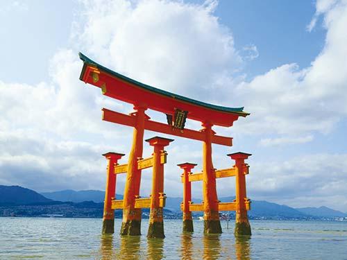 厳島神社大鳥居のイメージ