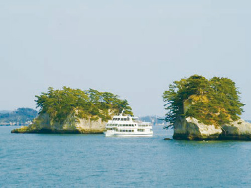 松島遊覧船イメージ
