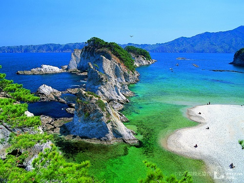 浄土ヶ浜のイメージ
