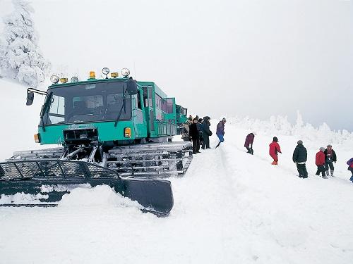 雪上車のイメージ