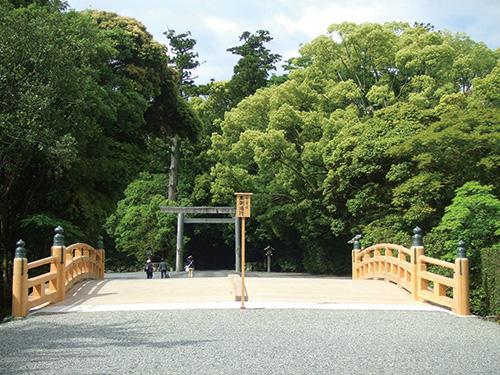 伊勢神宮外宮火除橋のイメージ