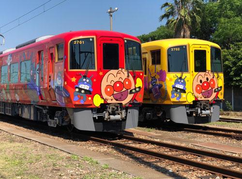 土讃線アンパンマン列車のイメージ