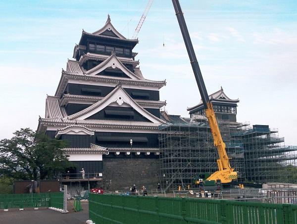 熊本城のイメージ