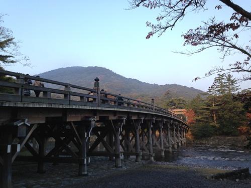 伊勢神宮(内宮・宇治橋)