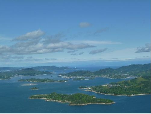 瀬戸内海の眺望のイメージ