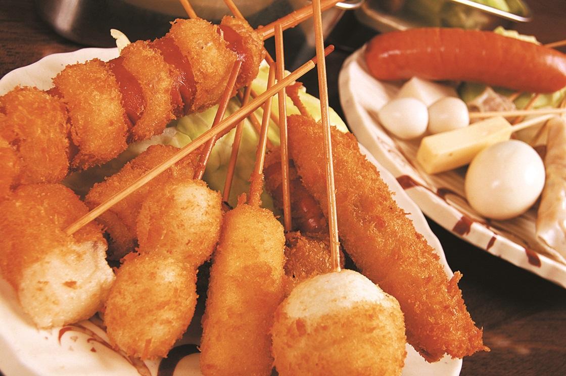 大阪の絶景と大阪の味「串カツ」を満喫!はじめての大阪ミナミ