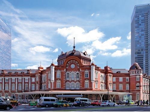 東京駅丸の内駅舎のイメージ