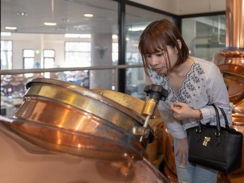 宇奈月麦酒館特別工場の見学イメージ